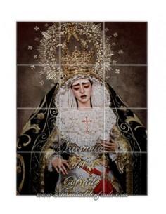 Retablo de 12 azulejos de Nuestra Señora de la Encarnación de Sevilla en venta en tu tienda web de confianza