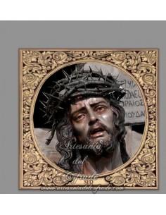 Azulejo cuadrado del Santísimo Cristo de la Sed de Cadiz. Solo en venta en nuestra Tienda Cofrade