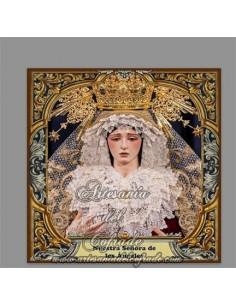 Se vende esta cerámica de la Virgen de los Ángeles de Sevilla - Tienda Cofrade online