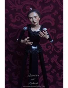 En venta esta Virgen dolorosa de vestir de 50 ctms de altura con buena calidad