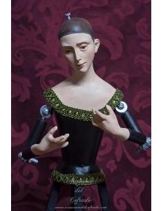 Virgen de vestir de candelero de 45 cm de altura en venta en nuestra tienda de semana santa