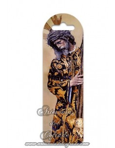 Marca página de plástico de Nuestro Padre Jesús del Gran Poder de Sevilla. Solo en venta en nuetra tienda