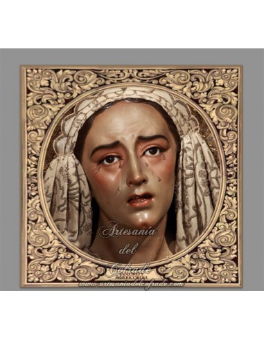 Azulejo cuadrado de María Santísima de los Dolores y Misericordia de Sevilla