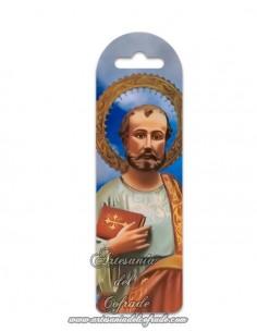 Marca página de plástico de San Judas Tadeo. Solo en venta en nuetra tienda