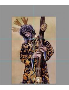 Retablo de 6 azulejos de Jesús del Gran Poder de Sevilla