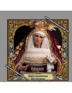 Se vende esta cerámica de la Virgen del Carmen de Dos Hermanas de Sevilla - Tienda Cofrade online
