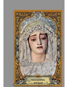 En venta esta cerámica con María Santísima de la Salud (Cofradía de Sanidad de Cádiz) - Tienda Cofrade