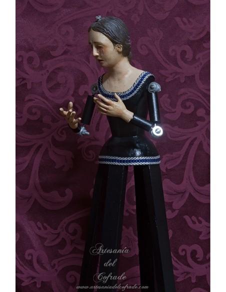 Se vende esta Virgen Dolorosa de candelero de 57 ctm en nuestra Tienda Cofrade