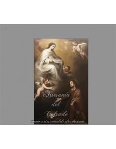 Se vende este azulejo de la Aparición de la Merced a San Pedro Nolasco - Tienda Cofrade