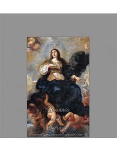 Se vende este precioso azulejo de la Ascensión de la Virgen María - Tienda de Cerámica religiosa