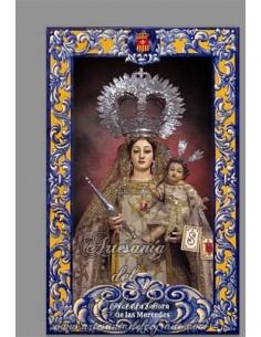 Se vende baldosa de cerámica con Nuestra Señora de las Mercedes de San Fernando - Tienda Religiosa