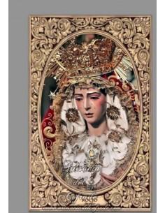 Azulejo rectangular de María Santísima del Rocío (Hermandad de la Redención de Sevilla) solo en venta en tu Tienda Cofrade