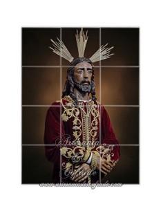 Retablo de 12 azulejos de de Nuestro Padre Jesús ante Anás de Sevilla (Cofradía de la Bofeta) en venta en nuestra tienda cofrade