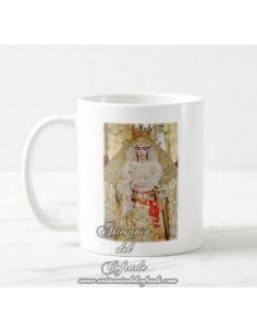 Taza Cofrade de Nuestra Señora de la Salud (San Gonzalo de Sevilla) en venta en nuestra tienda de semana santa