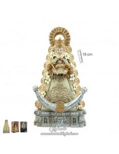 En venta esta figura de la Virgen del Rocio de 15 ctm en nuestra tienda cofrade