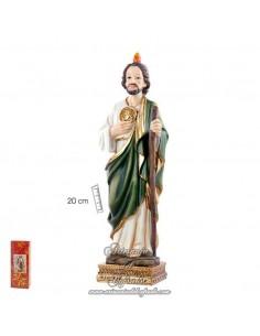 Se vende Figura de San Judas Tadeo de 20 ctm en nuestra tienda religiosa.