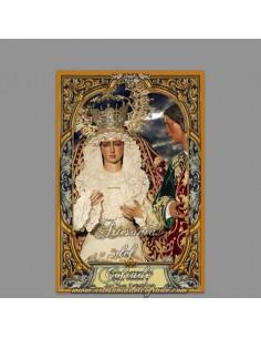 azulejo rectangular de Nuestra Señora del Dulce Nombre