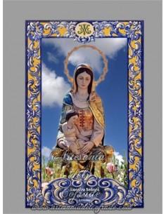 Azulejo de la virgen del Mar de Isla Cristina (Huelva), en venta en nuestra tienda cofrade