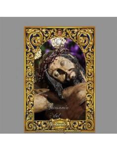 azulejo rectangular del Santísimo  Cristo del Mayor Dolor (La Bofetá)