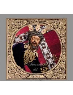 Azulejo cuadrado de Nuestro Padre Jesús de las Penas de Sevilla (Penas de San Vicente)