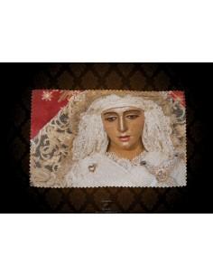 Toallita Limpia Gafas con la Virgen de la Esperanza de Triana
