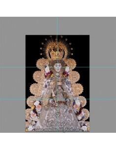 Retablo de 6 azulejos de la Virgen del Rocio