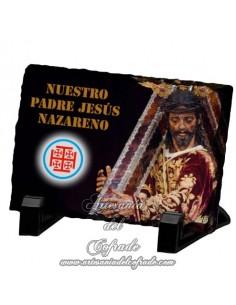 Pizarra rectangular de Nuestro Padre Jesús Nazareno de Sevilla