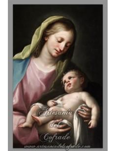 Se vende este precioso azulejo de la Virgen Maria con el Niño Jesús - Tienda Religiosa