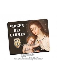 Bonita alfombra de ratón de la Virgen del Carmen
