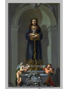 Precioso azulejo rectangular de Jesús de Medinaceli