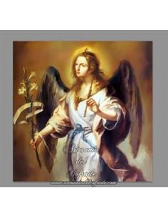 Azulejo cuadrado del Arcangel San Gabriel