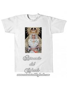 Camiseta con la Virgen de la Esperanza Macarena de Sevilla