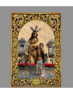 Azulejo rectangular de Ntra. Madre y Señora María Santísima de la Trinidad de Cordoba