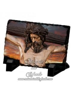 Pizarra rectangular del Stmo. Cristo del Buen Fin de Sevilla