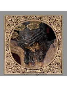 Azulejo cuadrado del Stmo. Cristo del Amor de Sevilla