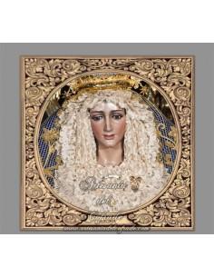 Azulejo cuadrado de María Santísima de la Alegría de Cordoba