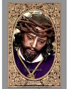 Azulejo rectangular de Nuestro Padre Jesús del Buen Suceso de Cordoba