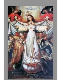 Azulejo rectangular de la Ntra.Sra. Madre de la Merced